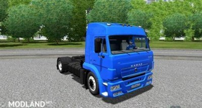 KamAZ 5460 Restayling Blue Truck [1.3.3], 1 photo